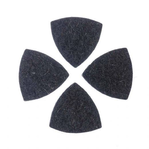 Felt Tones Gypsy Black Wool Felt 4 Picks